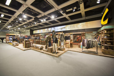 "Messestand "" Camel active "" Fashion Week Berlin 